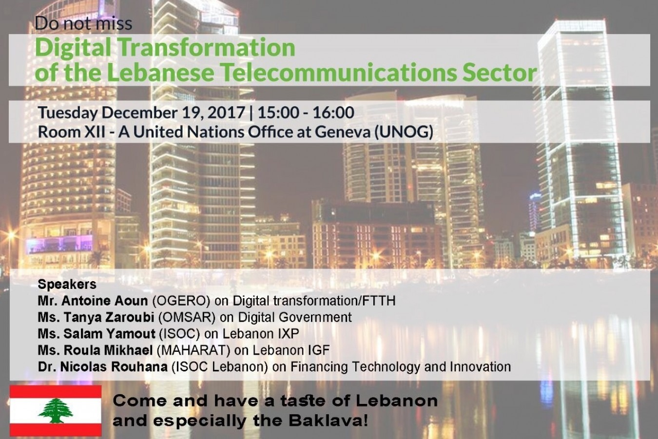 Digital Transformation of the Lebanese Telecommunications Sector