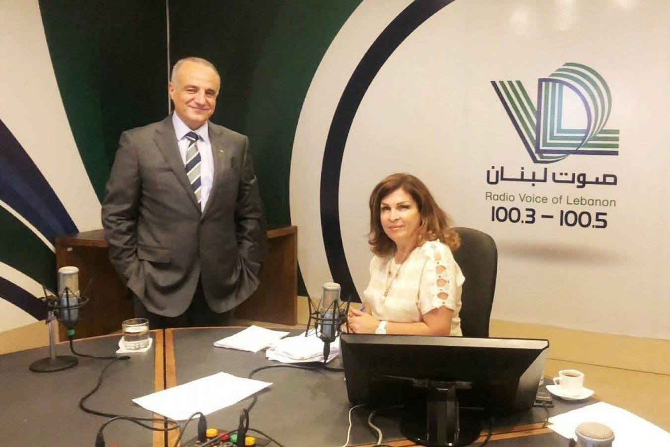 Ogero Chairman Imad Kreidieh interview on the Voice of Lebanon