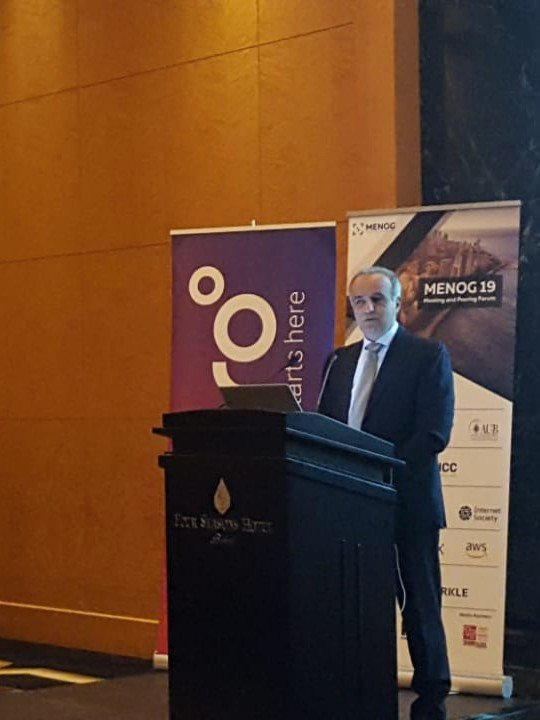 Ogero at MENOG, a gathering of network operators and tech Stakeholders